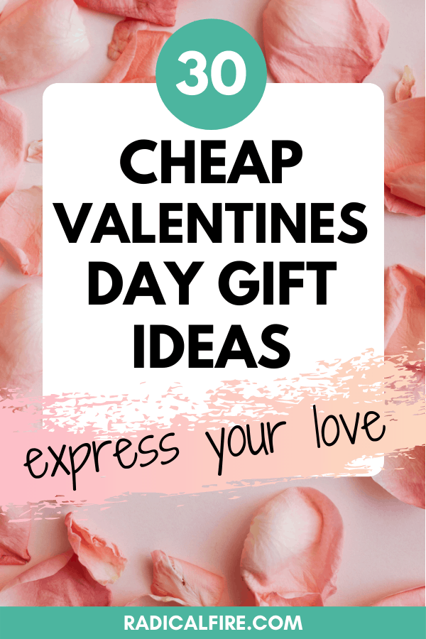 Last Minute & Cheap Valentines Day Gift Ideas